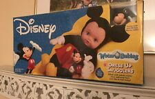 SEALED NIB Disney Water Babies Dress Up Snugglers Doll Mickey Mouse 2004 Toy