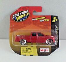 Maisto Adventure Wheels 2002 Dodge Ram Quad Cab Diecast 1:64 NIP Red 2011 *Rare*