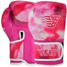 VELO Boxing Gloves Kids 4oz Sparring Punch Bag MMA Kickboxing Muay Thai