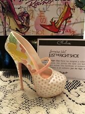 Rare Just The Right Shoe by Raine Shoe Miniatures- Clueless Nib