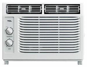 TCL 5,000 BTU White Mechanical Window Air Conditioner