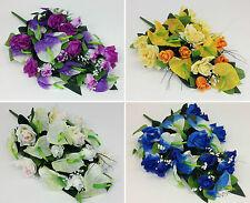 Markenlose Deko-Blumensträuße Pflanzen aus Gewebe
