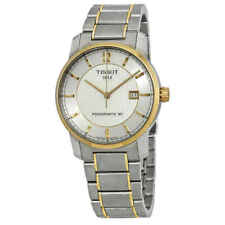 Novo Tissot T-classic Titânio Relógio Automático Masculino-T0874075503700