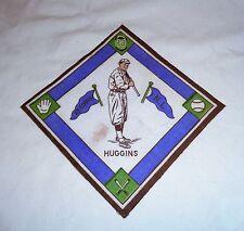 Vintage 1914 B18 Blankets St Louis Cardinals Miller Huggins Purple Pennants RARE