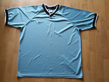 Old School Nike Light Blue Short Sleeve 100% Polyester Size: XL Shirt Made in US