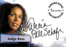 Smallville Season 3 Autograph Card A22 Felecia Bell-Schafer - Judge Abigail Ross