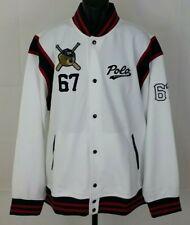 Polo Bear Ralph Lauren Letterman Varsity Jacket Men's Size XXL NWT
