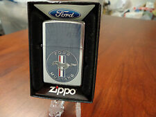 FORD MUSTANG ZIPPO LIGHTER MINT IN BOX