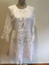 Nevenka white cotton dress. Size 14. Gorgeous!