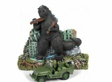 GREENLIGHT JLSP065 1/64 WILLYS JEEP WITH GODZILLA DIORAMA