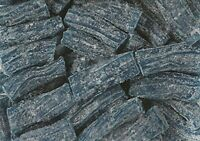 Sour Blue Raspberry Licorice Bits by Its Delish, 5 lbs