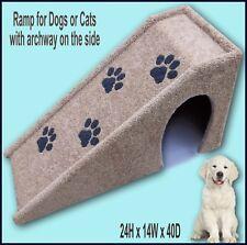 "Dog Ramp 24"" tall x 14"" wide x 40"" Deep Dog Ramp. Very Sturdy, Pet Ramp."