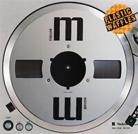 "Reel to Reel Tape Player #1 Slipmat Turntable 12"" LP Record Player DJ Audiophile"