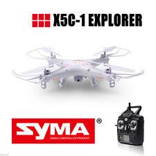 Syma X5C-1 Explorers 2.4GHz 4CH 6Axis Gyro RC Quadcopter Mode2 HD Camera FPV RTF