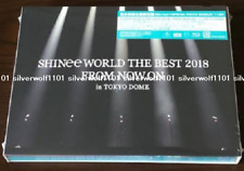 New SHINee WORLD THE BEST 2018 FROM NOW ON in TOKYO DOME Limited Edition Blu-ray
