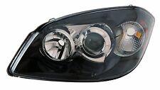 New Passenger Side Cobalt Black Projector Headlight FOR 2007-2009 Pontiac G5