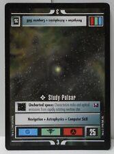 Star Trek TNG CCG Promo Card Study Pulsar