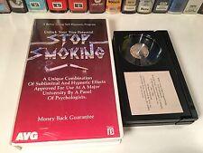Stop Smoking Betamax NOT VHS 1985 Better Living Self-Hypnosis Program Beta