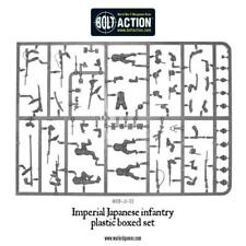 WARLORD GAMES - BOLT ACTION JAPANESE 6 MAN SPRUE & BASES - FREE POST!