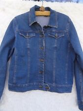 Willi Smith Denim XL Cotton Blue Over Stitched Pockets MINT
