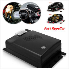 Car Pest Repeller Ultrasonic Rodent Repellent for Vehicle Automobile Chases Rat