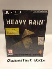 HEAVY RAIN SPECIAL COLLECTOR'S EDITION ITALIANO SONY PS3 NUOVO NEW DISPONIBILE