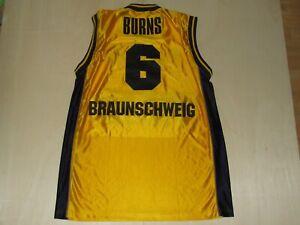 Camiseta Shirt Maillot de Triantes Basket Match Worn Braunschweig Burns 6