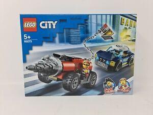 LEGO CITY Set 60273 Elite Police Driller Chase - New & Sealed - Free P&P