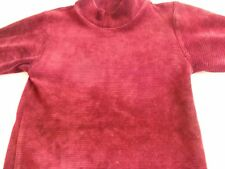 New Little Girls Maroon Cake Walk Top, age approx 18/24 months