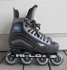 Mission A50 Roller Hockey Skates Mens Size 6D