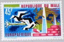 MALI 1967 155 103 EUROPAFRCIQUE Birds Industry Buildings Map Karte Vögel MNH