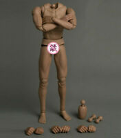"""WorldBox AT025 1/6th Flexible PVC Male Body 12"""" Soldier Action Figure Model Toy"""