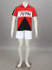 The Prince Of Tennis  Cosplay Japan U17 Sunmer White Uniform Any Size