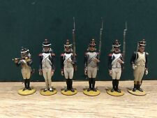 Metayer: French Fusiliers Of The Guard. 54mm Lead. c1950s