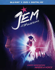 JEM and the Holograms NEW Bluray & DVD disc/case/cover-no digital musical