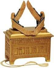 Large: Ark of the Covenant Symbols & Glyphs Sculptural Treasure Container