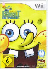 """"""" Spongebob's Eiskalt Entwischt """" (Nintendo Wii)"""