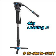 Benro A48TDS4 Aluminium Monopod Kit w/ S4 Video Pan Head * EXPRESS SHIPMENT