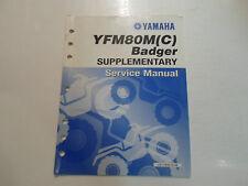 2000 Yamaha YFM80M (C) Badger Supplementary Service Manual FACTORY OEM BOOK 00 x
