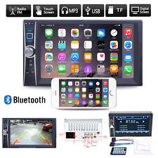 "6.6""HD Double 2DIN Bluetooth Touch Car Radio Stereo MP5 MP3 Player FM/USB/TF/AUX"