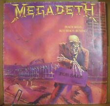 MEGADETH - PEACE SELLS...BUT WHO'S BUYING? - LP