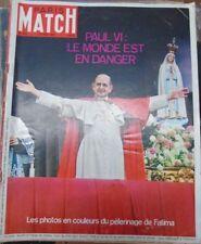 Paris Match N° 946 27 mai 1967 Paul VI Pèlerinage de Fatima Hanoi sous bombes