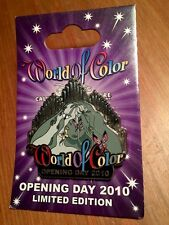 Disney World Of Color Pin Fantasia Sprite Fairy Opening Day 2010 Limited Edition
