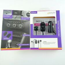 iSimple Isbt5 Blustream Bluetooth Car Kit Hands-Free Call & Music Streaming New