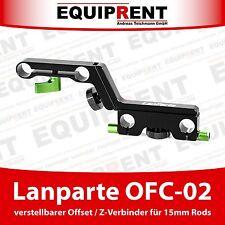 Lanparte OFC-02 verstellbarer 4-fach Offset Z-Connector / Verbinder (EQ496)