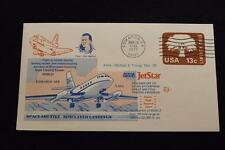 SPACE COVER 1977 MACHINE CANCEL JET STAR SPACE SHUTTLE LANDING TEST #446 (4183)