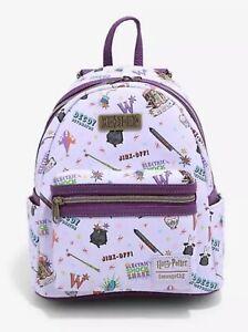 Loungefly Harry Potter Weasleys' Wizard Wheezes Mini Backpack NWT