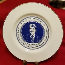 Jimmy Carter 39th President Large Collector Plate Inaugurational 138 out of 2500