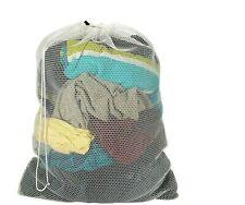 "Xxl 24X36"" Mesh Laundry Washing Machine Bag Large Net Drawstring Wash Sack"