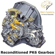 Renault / Vauxhall / Nissan - Reconditioned Gearbox - 6 Speed - PK6